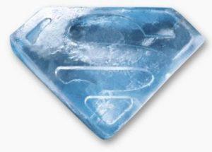 Superman Ice Cube Tray Ice Cube