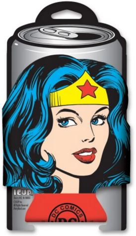 Wonder Woman Die Cut Coozie
