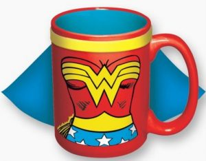Wonder Woman Caped Mug