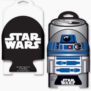 Star Wars Die Cut R2D2 Coozie FrontBack