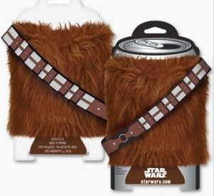 Star Wars Chewy Coozie Front Back