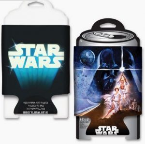 Star Wars Episode IV Coozie Front Back