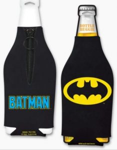 Batman Bottle Coozie Front and Back