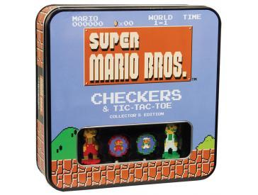 Super Mario Classic Checkers/Tic -Tac-Toe