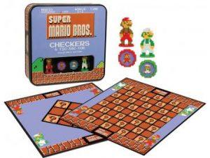 Super Mario Classic Checkers/Tic -Tac-Toe Open