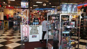 Retro Active Store inside