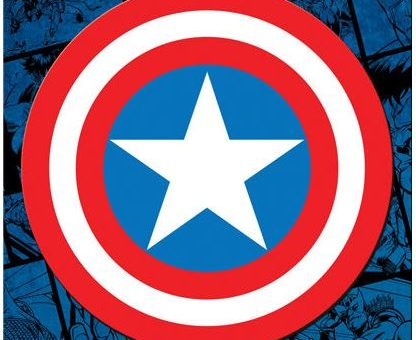 Captain America Car Magnet