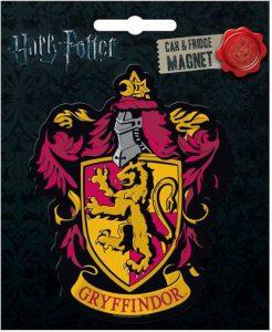 Harry Potter Gryffindor Crest Car Magnet