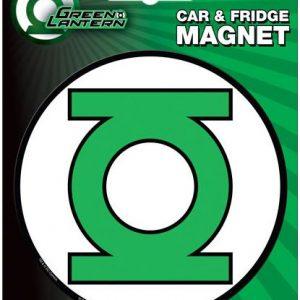 Green Lantern Car Magnet