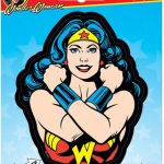 Wonder Woman Arms Crossed Sticker