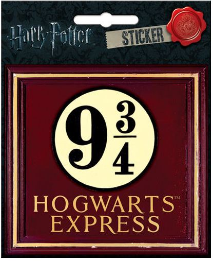 Harry Potter Hogwarts Express Sticker