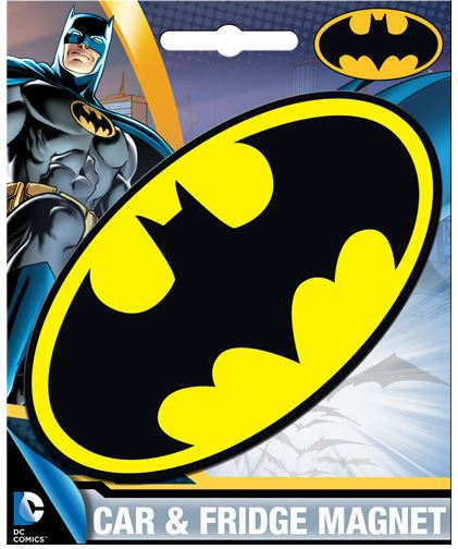 Batman Car Magnet