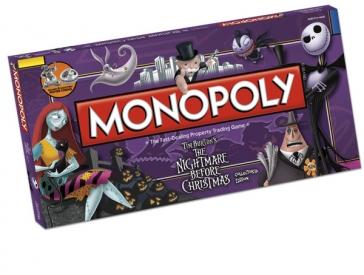 Nightmare Before Christmas Monopoly