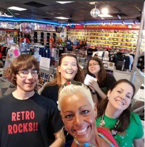 Retro Active Commercial Selfie