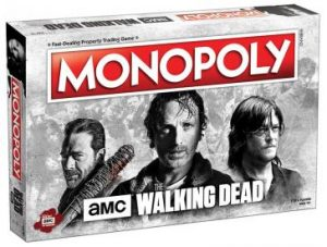 AMC's The Walking Dead MONOPOLY box