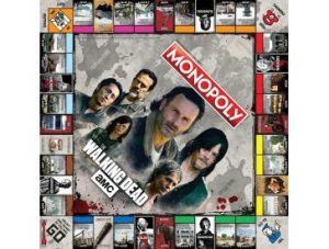 AMC's The Walking Dead MONOPOLY board