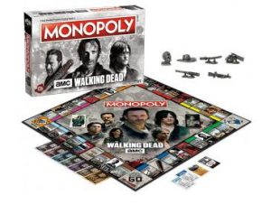 AMC's The Walking Dead MONOPOLY pieces