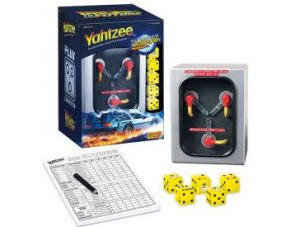 Back To The Future Yahtzee Pieces