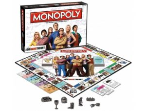 Big Bang Theory Monopoly Pieces