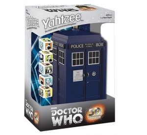 Doctor Who Tardis Yahtzee