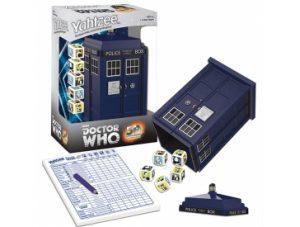 Doctor Who Tardis Yahtzee Pieces