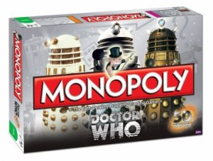 Doctor Who 50th Anniversary Monopoly