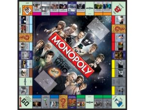 Doctor Who 50th Anniversary Monopoly Board