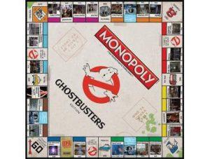 Ghostbusters Monopoly Board
