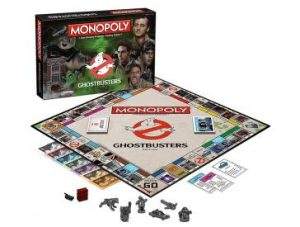 Ghostbusters Monopoly Pieces