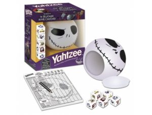 Nightmare Before Christmas Jack Yahtzee Pieces