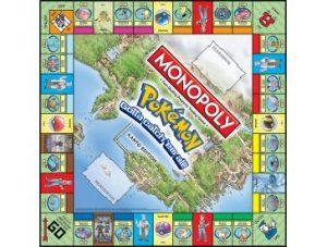 Pokemon Kanto Monopoly Board