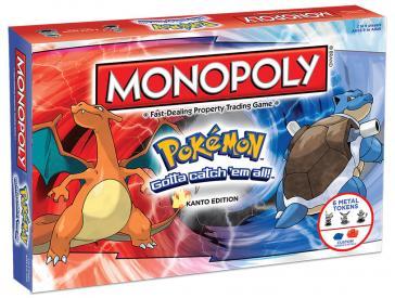 Pokemon Kanto Monopoly