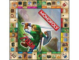 The Legend of Zelda Monopoly Board