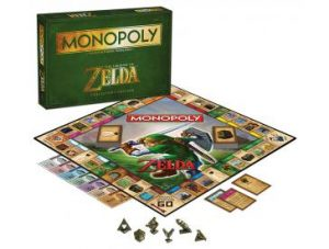 The Legend of Zelda Monopoly Pieces