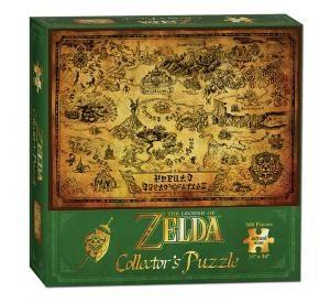 Legend Of Zelda Hyrule Map Puzzle