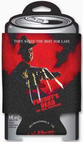 A Nightmare on Elm Street Freddy's Dead Poster Huggie