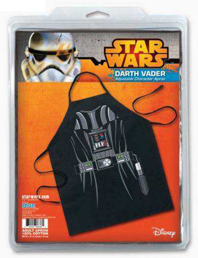 Star Wars Darth Vader Be the Character Apron Package