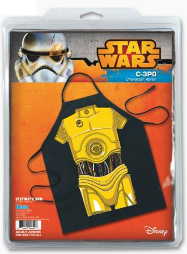 Star Wars C-3PO Be the Character Apron Package