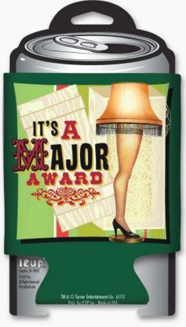 A Christmas Story Major Award Graphic Can Huggie