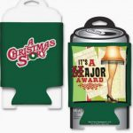 A Christmas Story Major Award Graphic Can Huggie Front Back
