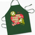 A Christmas Story Show Me How The Piggies Eat Apron