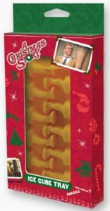 A Christmas Story Leg Lamp Ice Cube Tray