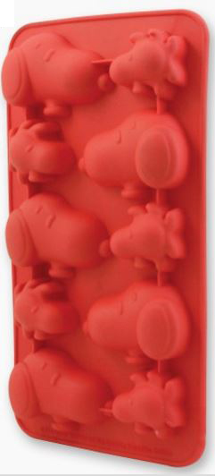 Peanuts Snoopy Ice Cube Tray Open