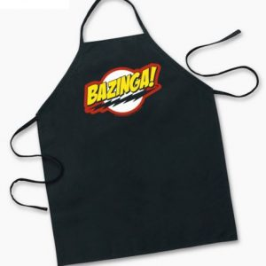 Big Bang Theory Bazinga Apron
