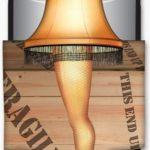 A Christmas Story Leg Lamp Diecut Can Cooler