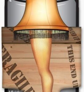 A Christmas Story Leg Lamp Diecut Can Cooler