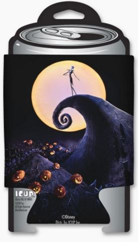 Nightmare Before Christmas Silhouette Can Cooler