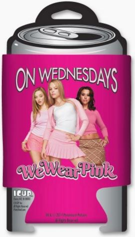 Mean Girls On Wednesdays We Wear Pink Huggie