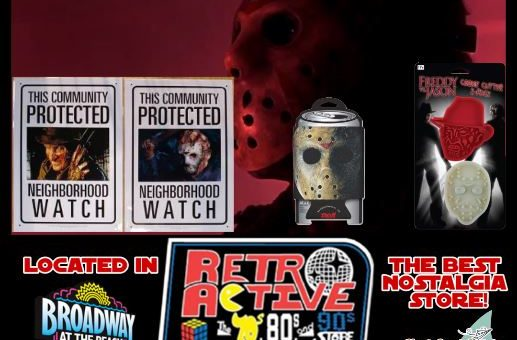 Freddy and Jason merchandise