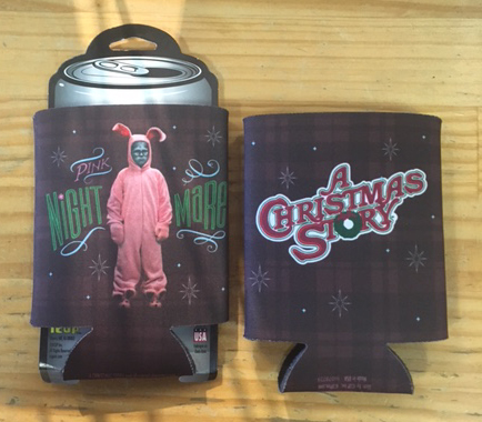 A Christmas Story Pink Nightmare Coozie